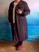 "Кардиган ""Спорт-Шик"" шоколад (Smart-Woman, Россия) — размеры 60-62, 64-66, 68-70, 72-74, 76-78, 80-82"
