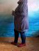 Худи (принт) (Smart-Woman, Россия) — размеры 64-66, 68-70, 72-74, 76-78, 80-82