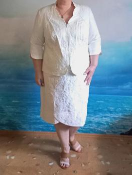 Жакет (15-m35-77/11) молочный